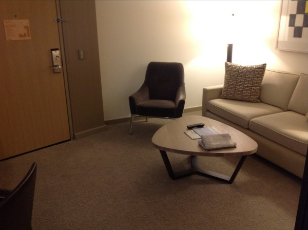 Conrad New York room review photo